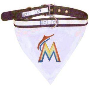 Miami Marlins Reflective Collar Bandana